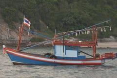 Bateau de pêche thaï Photographie stock libre de droits