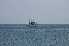 Bateau de pêche thaï Photographie stock