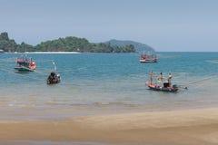 Bateau de pêche thaï Image stock