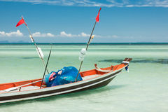 Bateau de pêche Thaïlande : Photo stock