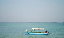 Bateau de pêche traditionnel Images stock