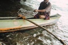 Bateau de pêche traditionnel photos stock