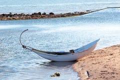 Bateau de pêche traditionnel Portugal Photo libre de droits