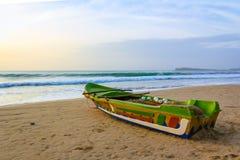 Bateau de pêche Trincomalee Sri Lanka Image stock