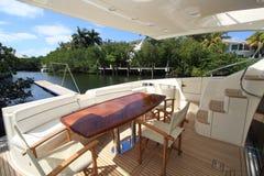 bateau de paquet Image stock