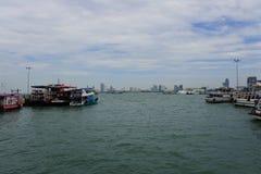 Bateau de Pattaya Photos libres de droits