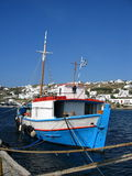 Bateau de pêche Images stock