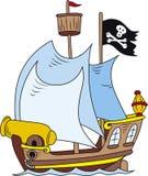 Bateau de pirate illustration libre de droits