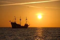 bateau de pirate Images libres de droits
