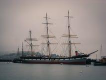 Bateau de pirate Hyde Street Pier San Francisco photo libre de droits