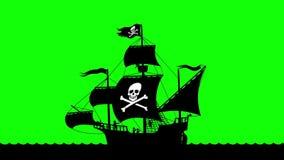 Bateau de pirate naviguant 3