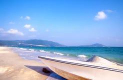 bateau de plage Image libre de droits