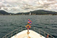 Bateau de plongée Photos libres de droits
