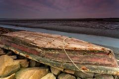 Bateau de rivage Image libre de droits