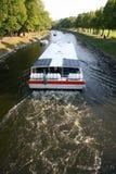 Bateau de rivière Photo libre de droits