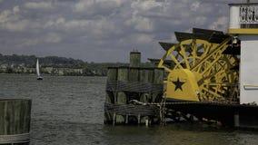 Bateau de rivière sur le fleuve Potomac Photo stock