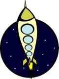 Bateau de Rocket Photos libres de droits