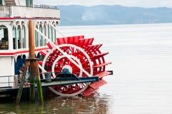 Bateau de roue à aubes Photos stock