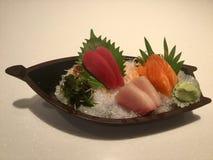 Bateau de sashimi Image stock