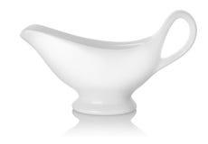 Bateau de sauce au jus Image stock