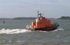 Bateau de sauvetage marin de sauvetage d'océan Images stock
