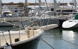 Bateau de Sitges Photo libre de droits