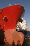 Bateau de transporteur de pétrole brut de camion-citerne image libre de droits