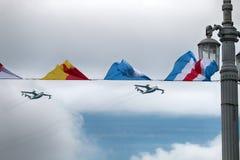 Bateau de vol Be-12 Chaika, l'OTAN de codification : Courrier, anti-sous-marin Images libres de droits