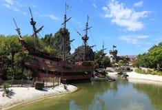 Bateau des pirates Image libre de droits