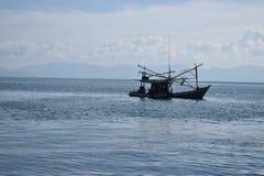 Bateau du ` s de pêcheur, Koh Tao Image libre de droits