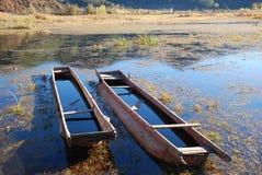 bateau en bois Photos libres de droits