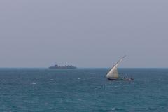 Bateau en bois de pêcheur Photos libres de droits