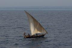 Bateau en bois de pêcheur Image libre de droits