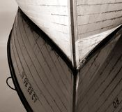 Bateau en bois, Fleuve Columbia Photographie stock libre de droits