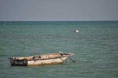 Bateau en mer Image libre de droits