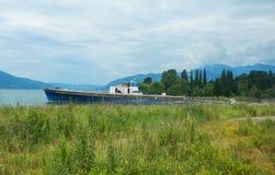 bateau en Mer Adriatique Photo stock