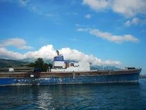 bateau en Mer Adriatique Photographie stock libre de droits
