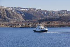 Bateau en Norvège Photographie stock libre de droits
