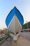 Bateau et ferry-boat de vitesse Photographie stock