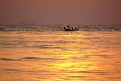 Bateau et mer Images libres de droits
