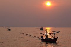 Bateau et mer Photos libres de droits