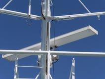 Bateau et navigation de radar Photo stock