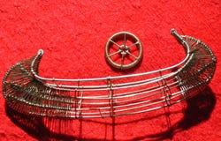 Bateau et volant Image stock
