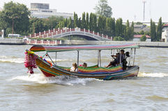 Bateau exprès Bangkok images libres de droits