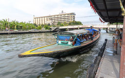Bateau exprès de Khlong Saen Saep Photo stock