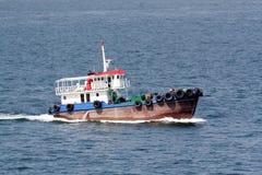 bateau fisching Photos libres de droits