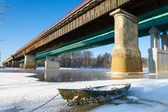 Bateau glacial Photos stock