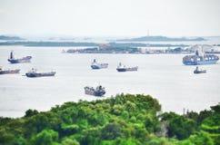 bateau général de cargaison Images libres de droits