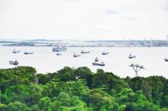bateau général de cargaison Photos libres de droits
