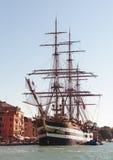 Bateau grand italien d'entraînement naval Image libre de droits
